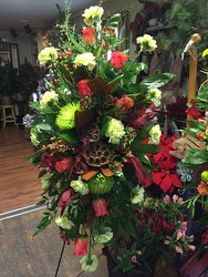 Funeral Easel Spray Designer's Choice from Catoosa Flowers in Catoosa, OK