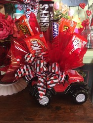 Jeep Candy Bouquet from Catoosa Flowers in Catoosa, OK