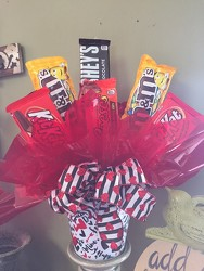 Valentine's Day Candy Bouquet from Catoosa Flowers in Catoosa, OK
