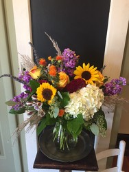 BRIGHT FALL MIX from Catoosa Flowers in Catoosa, OK