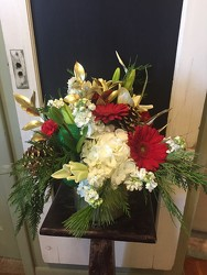 Christmas Arrangment from Catoosa Flowers in Catoosa, OK