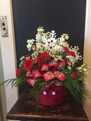 Santa's Sack of Christmas Cheer from Catoosa Flowers in Catoosa, OK