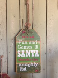 Christmas Gift Tag Fun and Games from Catoosa Flowers in Catoosa, OK