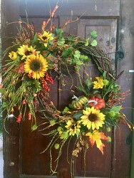 FALL WREATH  from Catoosa Flowers in Catoosa, OK