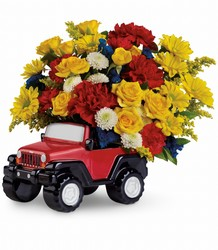 Jeep Wrangler King of the Road from Catoosa Flowers in Catoosa, OK